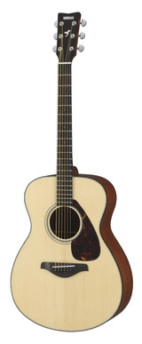 """Yamaha FS Series FS700S Small Body Solid Top Acoustic Guitar"