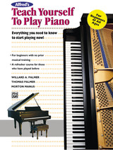 Alfred's Teach Yourself to Play Piano (Book) (Teach Yourself Series)