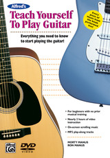 Alfred's Teach Yourself to Play Guitar (DVD)