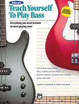 Alfred's Teach Yourself to Play Bass Book