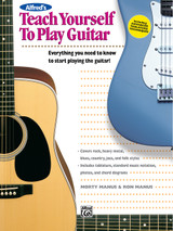 Alfred's Teach Yourself to Play Guitar Book