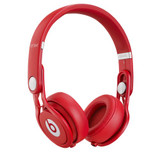 Beats Mixr On-Ear Headphones (Red)