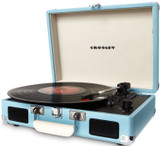 Crosley CR8005A-TU Cruiser Portable Turntable (Turquoise)