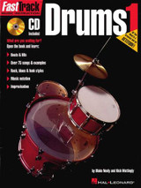 Fast Track Drum Learning Book and CD Pack