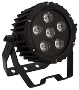 Epsilon Trim-Par 6VR 5-in-1 (RGBAW) Low profile wash light w/6 10-watt LEDs.