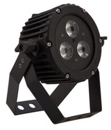Epsilon Trim-Par 3VR 5-in-1 (RGBAW) Low profile wash light w/3 10-watt LEDs.