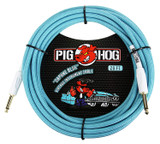 """Pig Hog """"""""Seafoam Green"""""""" Instrument Cable 20ft"""