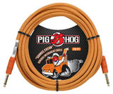 """Pig Hog Vintage """"""""Orange Cream"""""""" Instrument Cable 20 Ft Tour Grade"""