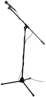 On Stage Stands MS7510 Microphone Pro-Pak with 20' XLR Cable