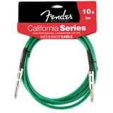 Fender 10 Feet California Instrument Cable - Surf Green