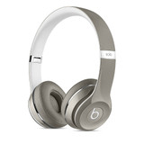 Beats by Dr. Dre Solo2 On-Ear Wired Headphones (Luxe Edition) in Silver