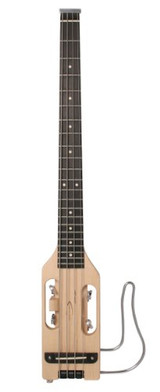 Traveler Guitar ULB NAT Ultra-Light Acoustic-Electric Right-Handed Travel Bass with Gig Bag