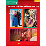 Hal Leonard 126896 Songs from Frozen, Tangled and Enchanted Easy Piano CD Play-Along Book