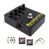 TECH 21 Pedal SansAmp GT2 Kit w Z-Pick Pack, 2 String Packs, 2 Patch Cables