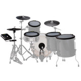 """NFUZD Audio NSPIRE Classic Full Pack Electronic Drum Set (12"""", 14"""", 16"""" Tom Trigger Pads,14"""" Snare/Tom Trigger Pad, Kick Trigger Pad, and an NSPIRE I/O Module )"""