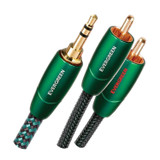 AudioQuest - Evergreen High-End Mini-to-RCA 2.0m cable