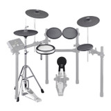 Yamaha DTP532 Drum and Cymbal pad set for the DTX532K: XP80, TP70 (3), KP65, PCY135 (2), RHH135, HS-650A(Drum Pedal not included)