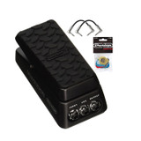 Dunlop DVP4 Volume X Mini Pedal with Picks and 2 R-Angle Patch Cable