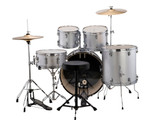 Ludwig Accent Fuse Drum Set in Silver Foil finish