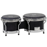 Gon Bops AA0785SE Alex Acuna Series 7 and 8.5-inch Special Edition Bongo in Ebony Lacquer Finish