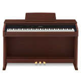 Casio Celviano AP460BN 88 Full Size Digital Cabinet Piano with Ivory Touch Keys in Walnut