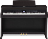 Casio Celviano AP650BK 88 Full Size Digital Cabinet Piano with Ivory Touch Keys in Black Finish