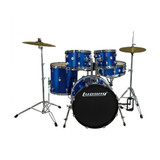 Ludwig Accent Drive Drum Set in Blue Foil finish