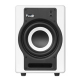 "Fluid Audio F8SW -200W, 8"" Active Studio Subwoofer in White"