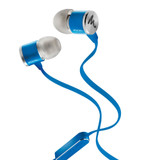 Focal Spark Wired In-ear Headphones with Silicone earplugs and Flat anti-tangle Cable in Blue
