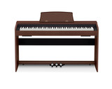Casio Privia PX-770BN 88-Keys, 3 Touch Sensitivity Levels, Multi-Dimentional Mophing AiR Sound Souce,Tri-sensor Scaled Hammer Action Keyboard Ⅱ Digital Piano in Brown
