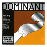 Thomastik 133 Violin G String-Dominant Silver Wound End 4/4