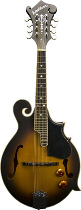 Washburn M3EK F Mandolin Bundle Pack with Tobacco Sunburst Finish