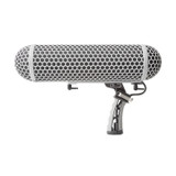 Marantz ZP-1 Professional Blimp-Style Microphone Windscreen & Shock mount with Synthetic Fur Slip-On Cover