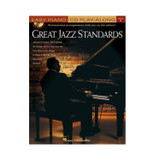 Hal Leonard 310916 Great Jazz Standards - Easy Piano CD Play-Along Volume 1 Book and CD