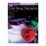 Hal Leonard 310918 Love Song Favorites: Easy Piano Book and CD Play Along Volume 6