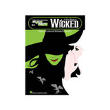 Hal Leonard 100223 Wicked A New Musical E-Z Play 64 Book