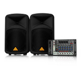 BEHRINGER EUROPORT EPS500MP3 500-Watt 8-Channel Portable PA System with MP3 Player