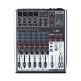 BEHRINGER XENYX 1204USB Premium 12-Input 2/2-Bus Mixer with XENYX Mic Preamps & Compressors