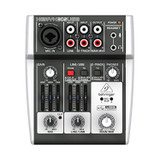 Behringer XENYX 302USB 5-Input Mixer Preamp Audio Interface