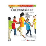 Hal Leonard 311258 Children's Songs Easy Piano CD Play - Along Volume 13 Book and CD