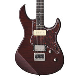Yamaha PAC611HFM RB Solid-Body 6 Strings Electric Guitar in Root Beer