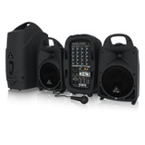 Behringer Europort PPA500BT 500W, 6 CH, Bluetooth Wireless, Built-in Effects Portable PA System