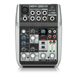 Behringer Xenyx Q502USB 3-band EQ 5-input, 2-bus Analog USB Mixer