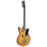 Yamaha RS720B WLF Electric Guitar with Gig Bag in Wall Fade