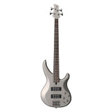 Yamaha TRBX304 PWT 4-String Electric Bass Guitar in Pewter