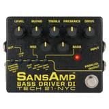 Tech 21 BSDR-V2 SansAmp Bass Driver V2 DI Guitar Amplifier