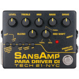 Tech 21 PMDI-V2 SansAmp Para Driver V2 DI Bass Guitar Amplifier