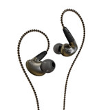 MEE Audio EP-P1-ZN-MEE Pinnacle High Fidelity Audiophile In-Ear Headphones with Detachable Cables
