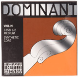 Thomastik-Infeld 135B12 Dominant Violin Strings Complete Set 1/2 Size with Chrome Steel Ball End E String