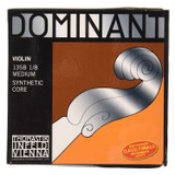 Thomastik-Infeld 135B18 Dominant Violin Strings Complete Set 1/8 Size with Chrome Steel Ball End E String